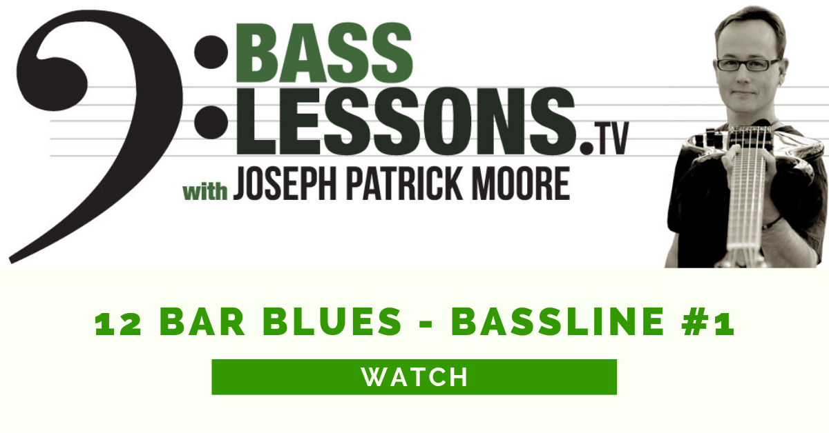 12 Bar Blues Bassline #1