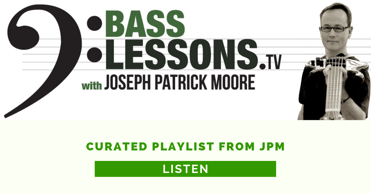 Curated Playlist From Joseph Patrick Moore