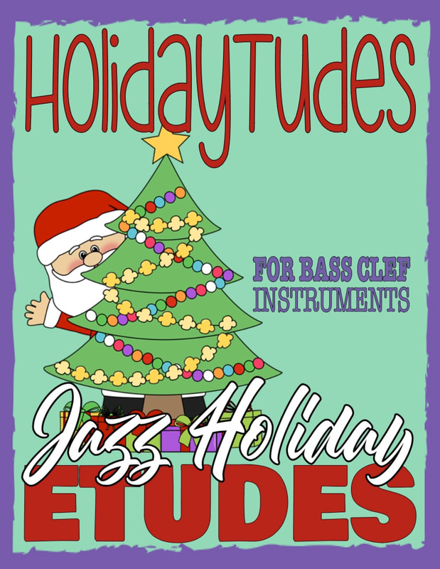 Play Holiday Christmas Jazz on your bass guitar
