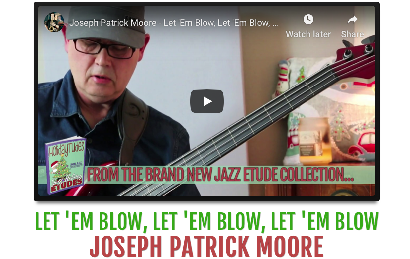 Joseph Patrick Moore plays Let It Snow. Available as a Free Download